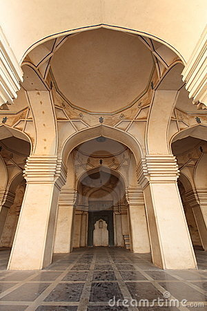 Interior of ancient Mosque