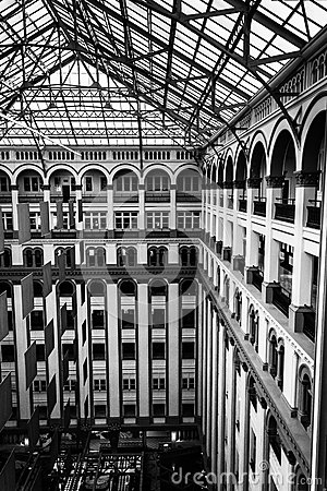 Interior Architecture At The Old Post Office In Washington Dc Editorial Stock Image Image