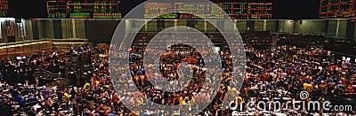 Interior av det Chicago brädet av handel Redaktionell Arkivfoto