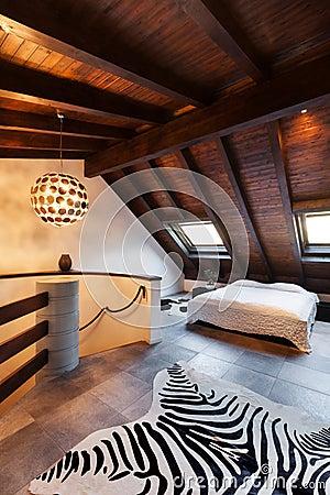 Interior, beautiful loft