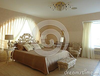 Interior of a bedroom