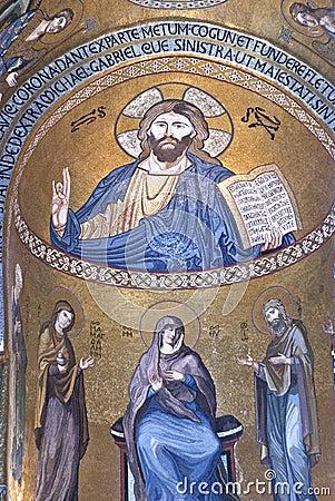 Interior of Cappella Palatina