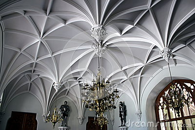 Interior castle lednice