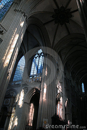 Interior of The Cathedral of Our Lady of Chartres