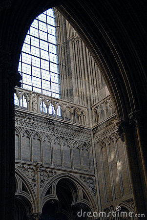 Interior The Cathedral of Our Lady of Chartres