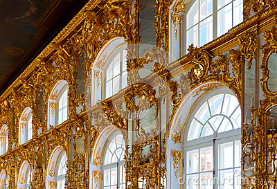 Interior of Catherine Palace Editorial Image