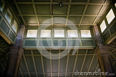 Interior Ceiling of Pavilion at Rockcliffe Park