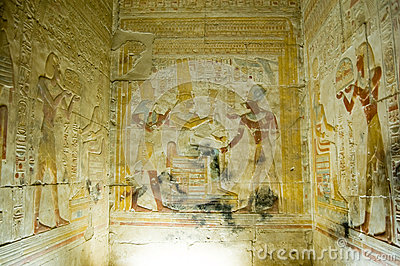 Interior Chapel, Temple of Abydos