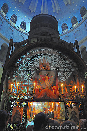 Interior Church  Holy Sepulcher