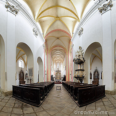 Interior of Church of Presentation of Virgin Mary
