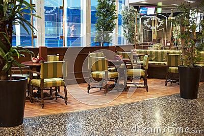 Interior coffee  bar