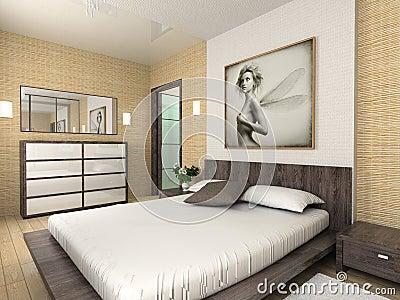 Interior confortável moderno