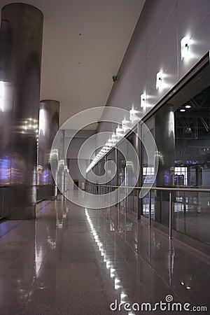 Interior corridor gallery