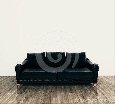 Free Interior Couch Royalty Free Stock Image - 23855536