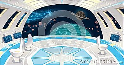 Interior de la nave espacial imagenes de archivo imagen for Interior nave espacial