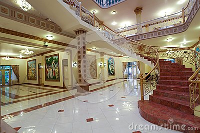 Interior de lujo Imagen de archivo editorial
