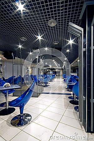 Interior de un club de noche