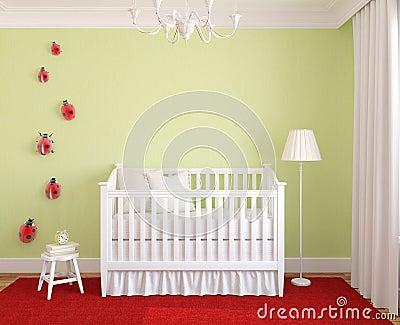 Interior del cuarto de niños.