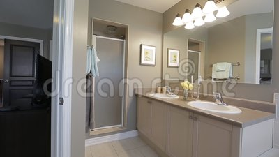 Bathroom Interior Design Stock Footage Video Of Sanitary 107265204