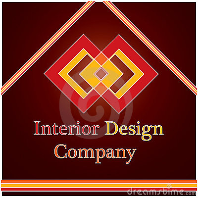 Interior design company logo royalty free stock photo - Business name for interior design company ...