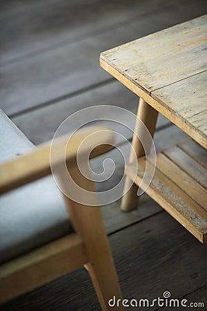 Free Interior Design Detail Of Retro Wood Furniture Stock Images - 50882154