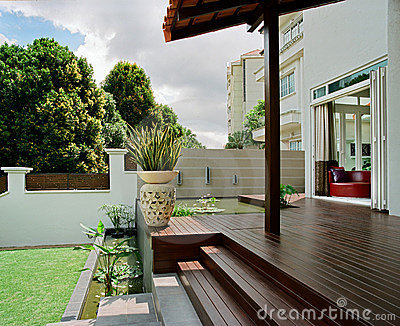 Interior design - garden