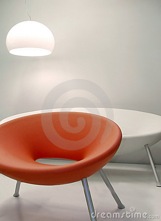 Interior design retro 60s