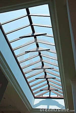 Interior design roof in thailand