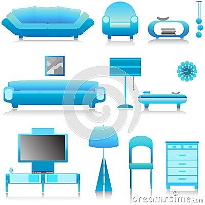 Interior design vector 1