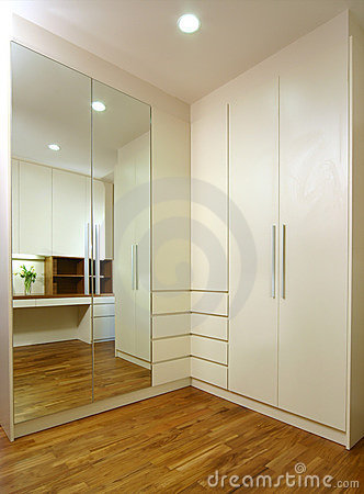 Interior design - wardrobe