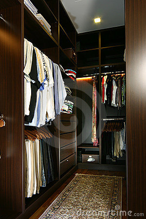 ... Free Stock Photography: Interior design - wardrobe.