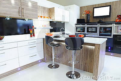 Interior designed home kitchen