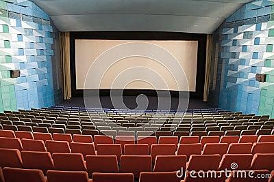 Interior do cinema
