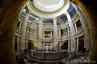 Interior Dome of State Capital Building