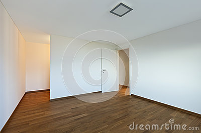 Interior empty room