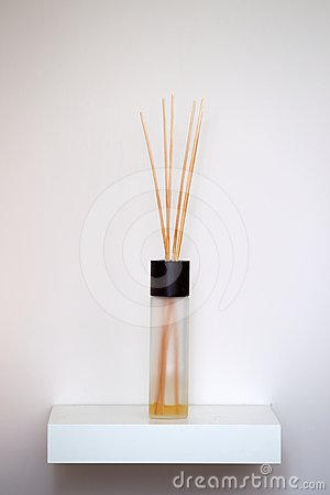 Interior fragrance scent sticks