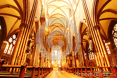 Interior of the freiburg muenster royalty free stock for Interior design freiburg