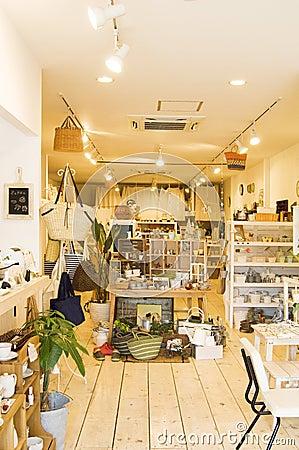 interior of general store