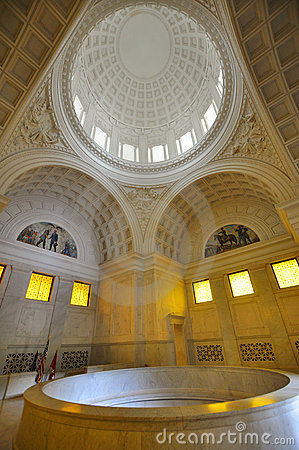 Interior of Grant s Tomb in New York City