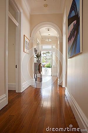 Interior Hallway Entrance Doorway