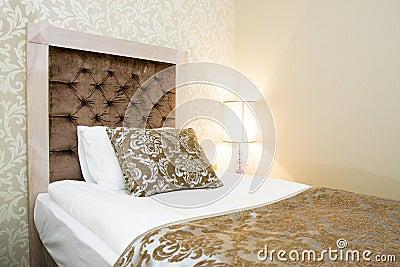 Interior of a hotel room in Kemer, Antalya