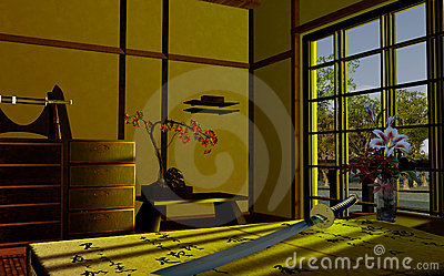 Interior japonês