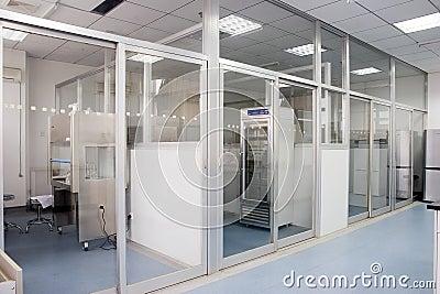 Interior of lab
