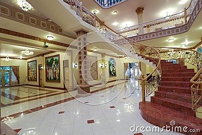 Interior luxuoso Imagem de Stock Editorial