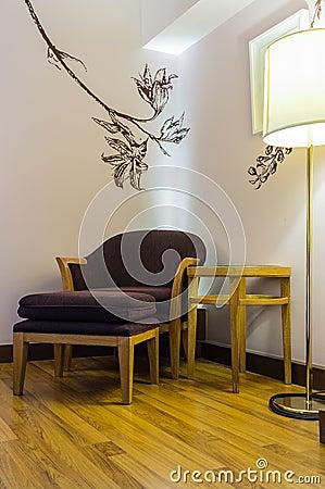 Interior luxury apartment