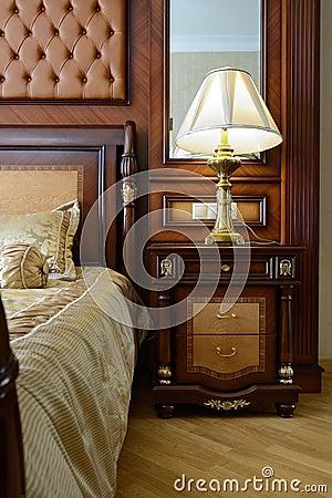Interior of a luxury bedroom