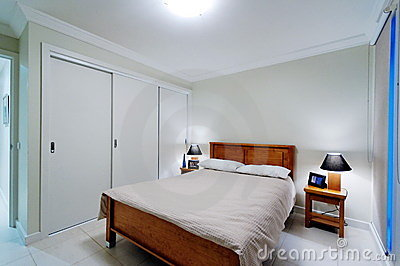 Interior of master bedroom
