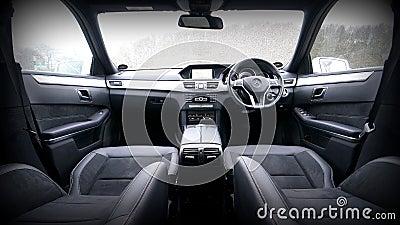Interior Of Mercedes Benz Free Public Domain Cc0 Image