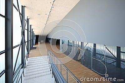 Interior of modern sport arena