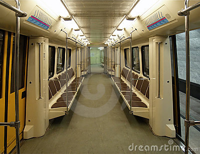 interior of a modern subway car royalty free stock images image 1320669. Black Bedroom Furniture Sets. Home Design Ideas